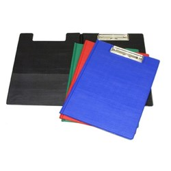 Clipboard Folder PVC A4 Asstd Cols