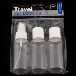 Travel Bottle Kit 3pc