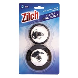 Sink and Bath Plug 2Pk 40mm and 50mm