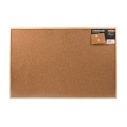 Corkboard Wooden Frame 900x600mm