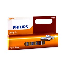 Battery Pk12 Aaa Longlife H/D Philips