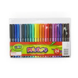 Marker Colour Fine Tip 24pk