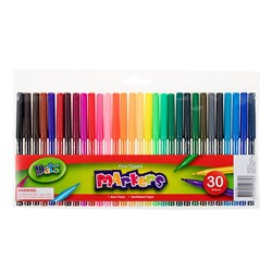 Marker Colour Fine Tip 30pk