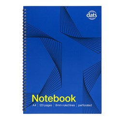 Notebook Basic Card Cover A4 120pg