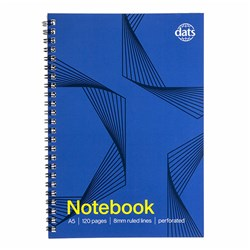 Notebook Basic Card Cover A5 120pg