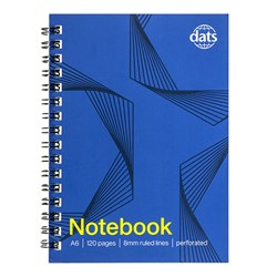 Notebook Basic Card Cover A6 120pg
