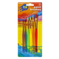 Brushes Paint Artist Coloured Pk6