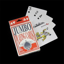Cards Playing Jumbo