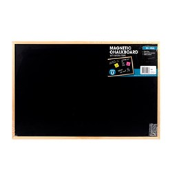 Chalkboard Magnetic Wooden Frame 600x400mm