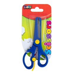 Scissors Safety 140mm Blue