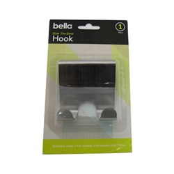 Hook S/Steel Over The Door