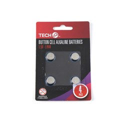 Batteries LR44 1.5V Button Cell