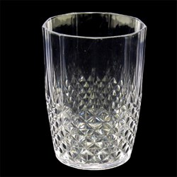 Faux Crystal Tumbler Short PS 450mL