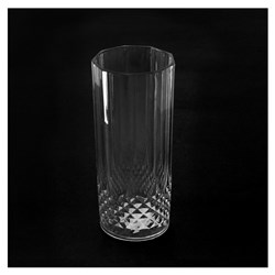 Faux Crystal Tumbler Tall PS 350mL