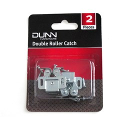 Double Roller Catch Silver