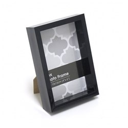 Frame Photo Box 10x15cm / 4x6inch Black