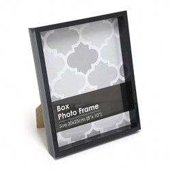 Frame Photo Box 20x25cm / 8x10inch Black