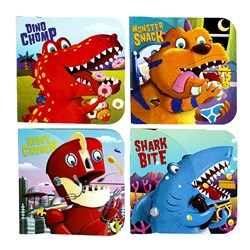 Book Board Kids Chomp 4 Asstd