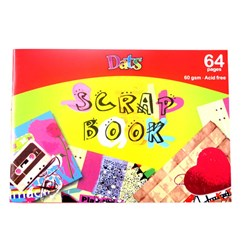 Scrap Book A5 60gsm 64pages