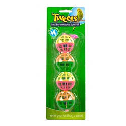 Bird Toy Hanging Balls Pk1