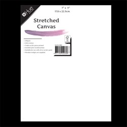 Canvas Stretched Cotton 280gsm 17mm 7x9in W16.1 FSC-100%