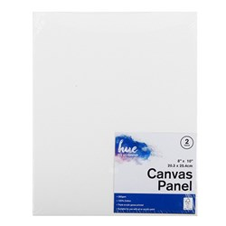 Canvas Panel Cotton 280gsm 3mm 8x10in 2pk P3.1 FSC-Mix 70%