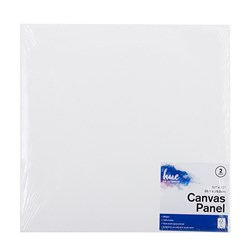 Canvas Panel Cotton 280gsm 3mm 12x12in 2pk P3.1 FSC-Mix 70%