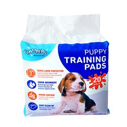 Puppy Training Pads Pk20