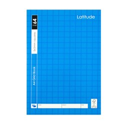 Book Grid A4 5mm Ruled 64pg 210x297mm P7.1 FSC MIX 70%
