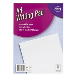 Pad Paper Writing A4 100pg P7.2 FSC MIX 70%
