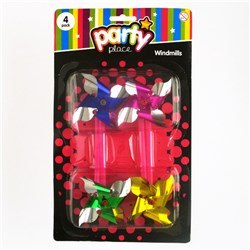 Party Toy Windmill Pk4