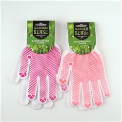 Gloves Ladies Cotton with PVC Dots