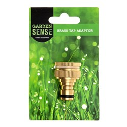 Brass Tap Adaptor - Small Tap 1/2""
