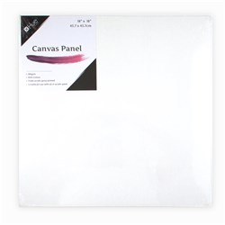 Canvas Panel Cotton 280gsm 3mm 18x18in MDF Board