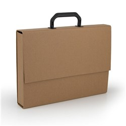 File Case Kraft A4 w Handle