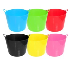 Tub Flexi Medium 26L 6 Asstd Colours