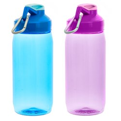 Drink Bottle 600ml Tritan 2 Asstd Cols