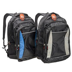 Backpack Black/Grey & Black/Blue 44 x 30 x 14cm