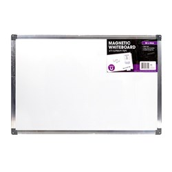 Whiteboard Magnetic Aluminium Frame 600x400mm