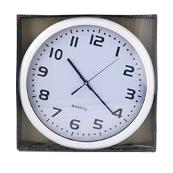 Clock Wall 40x40cm White