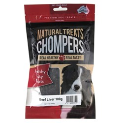 Dog Treat Beef Liver 100g