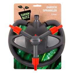 Garden Sprinkler 3 Arm