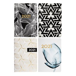 Diary DTP A4 Soft PU Feel Paper 4 Colour Print
