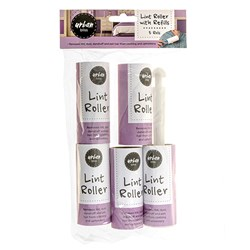 Lint Roller with Refill Pk5