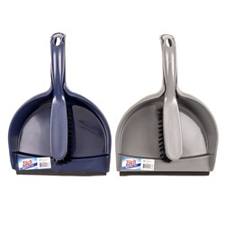 Dustpan and Brush Recycled 2 Asstd Cols
