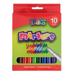 Marker Colour Change 10pk 9pc Col 1pc Changing Marker