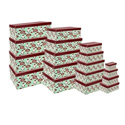 Gift Box Xmas Set 18 Rectangular Cute