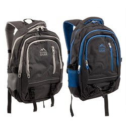 Outdoor Gear Padded Backpack 2 Asstd Cols Blue / Grey