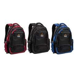 Outdoor Gear Padded Backpack 3 Asstd Cols