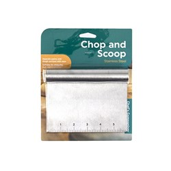 Chop and Scoop Stainless Steel 15x12.1cm